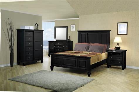 Sandy Beach Black Bedroom Furniture Set Coasterfree