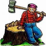 Lumberjack Clipart Logger Transparent Ham Radio Mac