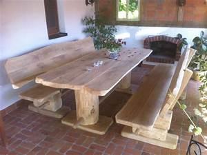Tischdecken Für Lange Tische : rustikale holz sitzgarnitur gartengarnitur birke massiv 3 teilig 1 60m lang ideen f r meinen ~ Buech-reservation.com Haus und Dekorationen