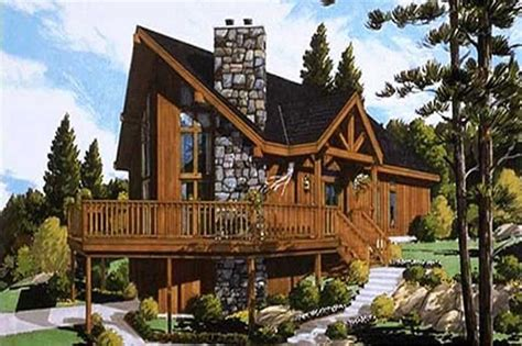 log cabin small home bdrms sq ft floor plan