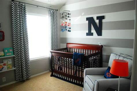 white and gray boy nursery with blue nolan 39 s grey white and navy baby boy nursery project