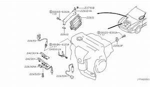 2004 Nissan Maxima Engine Control Module