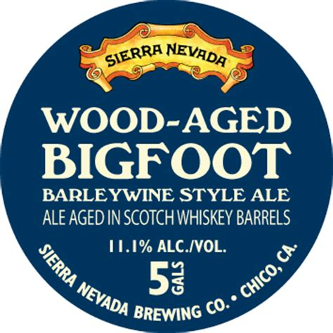 evidence  barrel aged bigfoot  coming beer