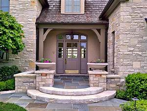 Front Entry Landscaping Landscape Farmhouse With Edging