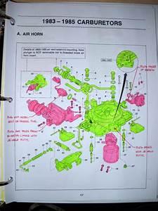 4 Barrel Nikki Carburetor Diagrams