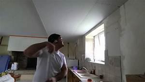 Faux Plafond Placo : comment faire un plafond placo sous hourdis b ton en ~ Melissatoandfro.com Idées de Décoration