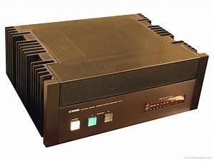Yamaha M-2 - Manual - Stereo Power Amplifier
