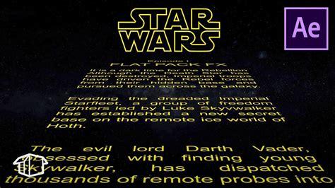 horizontal star wars title crawl template