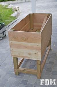 Fabriquer Un Potager Surélevé En Bois : fabriquer un potager sur lev en bois ekipia ~ Melissatoandfro.com Idées de Décoration