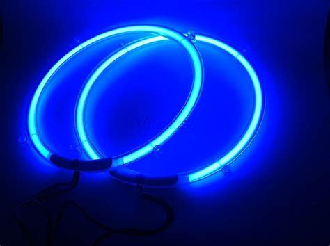 6x9 speakers with led lights 8 inch blue neon speaker rings subwoofer glow neon car
