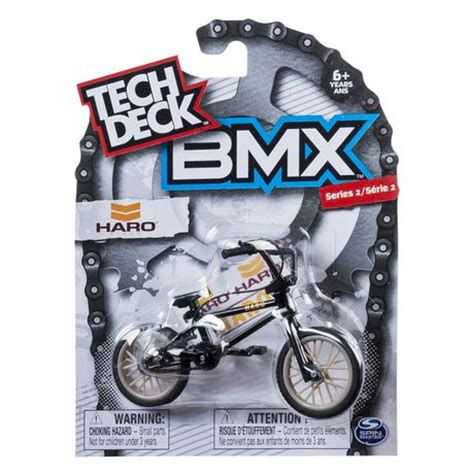 tech deck bmx series 1 haro black finger bike walmart ca