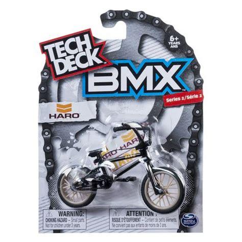Tech Deck Bmx Finger Bikes by Tech Deck Bmx Series 1 Haro Black Finger Bike Walmart Ca