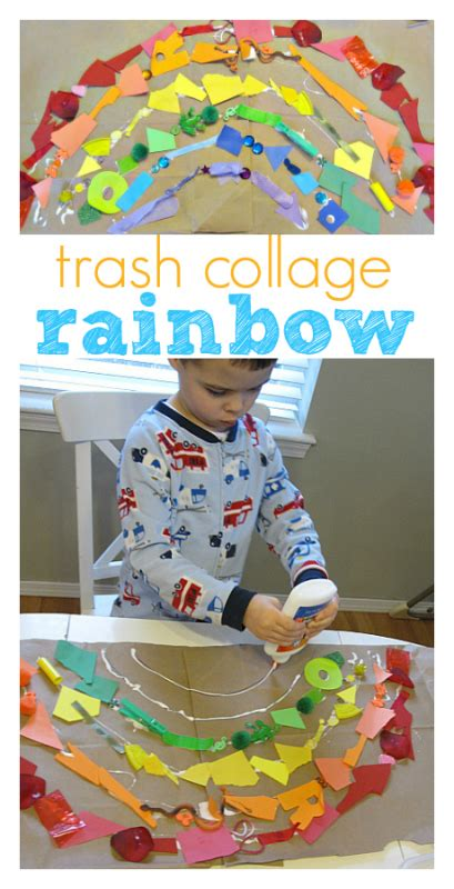 earth day crafts  activities   year olds rainbow