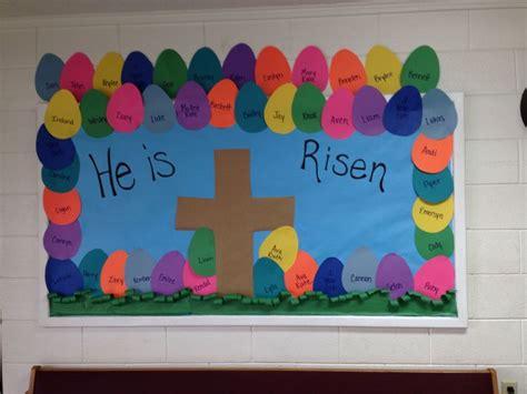 christian preschool bulletin boards 16 best easter bulletin board images on easter 881