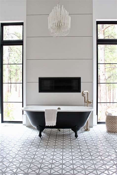 Vintage Modern Bathroom by The Forest Modern Modern Vintage Master Bathroom Reveal