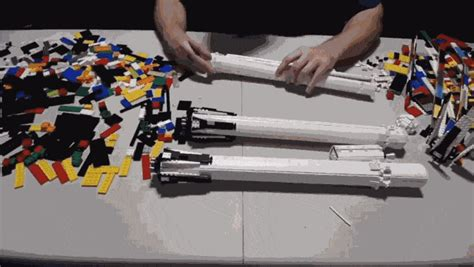 lego version   spacex falcon heavy