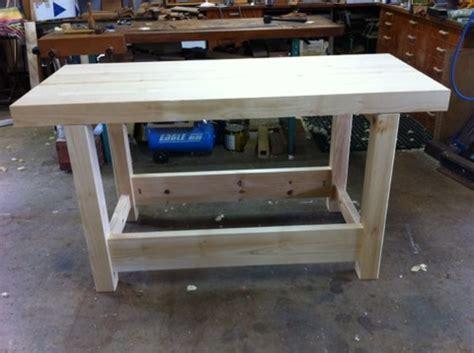 hoop pine bench workbench micheal connor woodwork