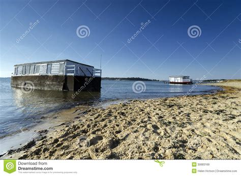 Boat Graphics Poole by House Boats In Poole Harbour Royalty Free Stock Images