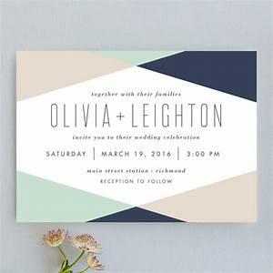 minimal mod wedding invitations by carly reed walker minted With minted formal wedding invitations