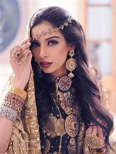 gorgeous indian wedding long hairstyles kavita mohan With bijoux indiens