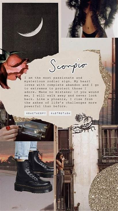 Scorpio Wallpapers Astrology Zodiac Aesthetic Sign Quotes