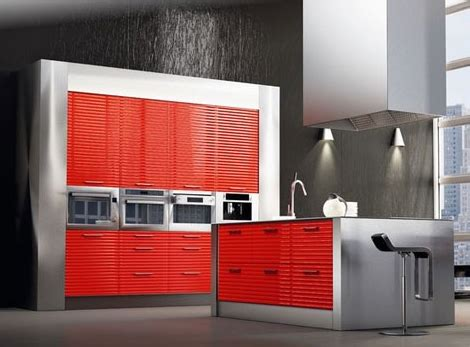 modern metal kitchen cabinets modern purple and spain kitchen ideas from spazzi