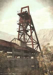 Old Mine Elevator No. 9 by shawndriscoll on DeviantArt