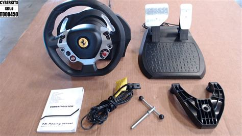 Thrustmaster assists virtual racers through their learning curve with the tx racing wheel ferrari 458 italia edition. T000450 Thrustmaster Tx Racing Wheel Ferrari 458 Italia Edition Force - Cyberkits Store Returns