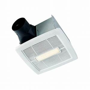 Nutone invent series cfm ceiling exhaust bath fan with
