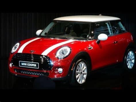 mini cooper hardtop debut   la auto show youtube