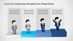 Leadership Levels Diagram Template For Powerpoint