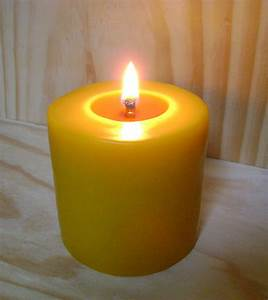 Pillar, Wide, Beeswax, Candle, U2013, Beeswaxdelight, 100, Pure, Beeswax, Candles