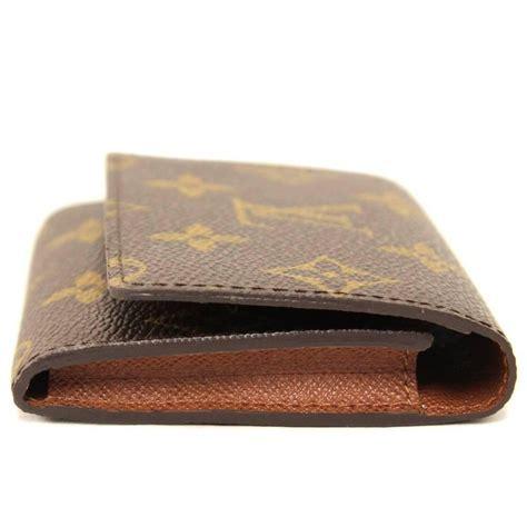 Louis vuitton card holder monogram canvas m69761. Louis Vuitton Monogram Canvas Business Card Holder, 2000s at 1stdibs