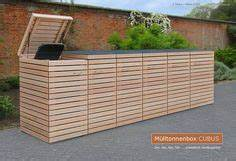 Mülltonnenbox Holz Anthrazit : 3er m lltonnenbox holz anthrazit grau reihenhausgarten pinterest ~ Whattoseeinmadrid.com Haus und Dekorationen