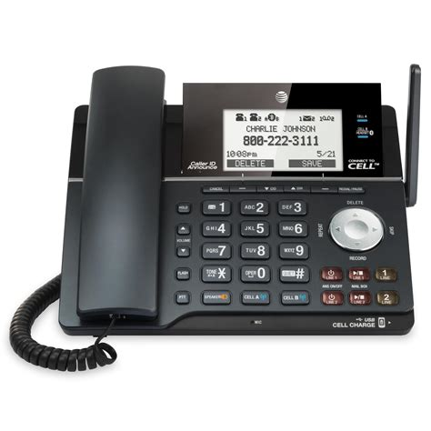 cell phone caller id bluetooth connect to cell cordless phones at t