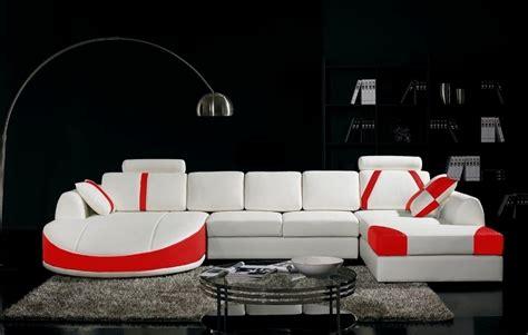 canap 233 d angle en cuir italien 7 8 places naples blanc et mobilier priv 233