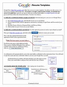 10 useful free resume template google docs With google resume free download
