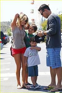 LeAnn Rimes: Family Fun Day with Eddie Cibrian, Mason ...