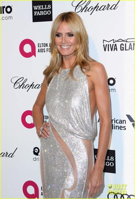 Heidi Klum Alessandra Ambrosio Stun Elton John Oscars
