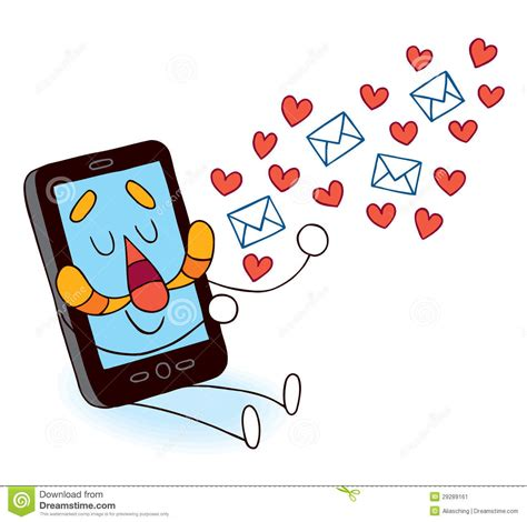 that sends pictures to phone cell phone sending messages stock image image 29289161