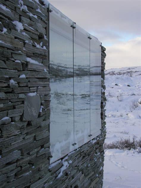 stone  glass house