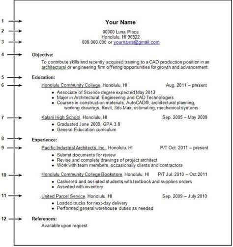 12331 freshman college student resume no experience freshman college student resume no experience https