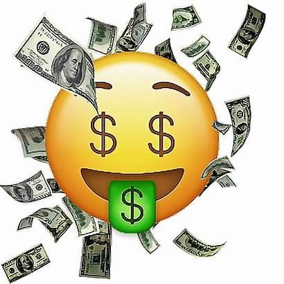 Emoji Money Sticker Transparent Bag Clip Clipart