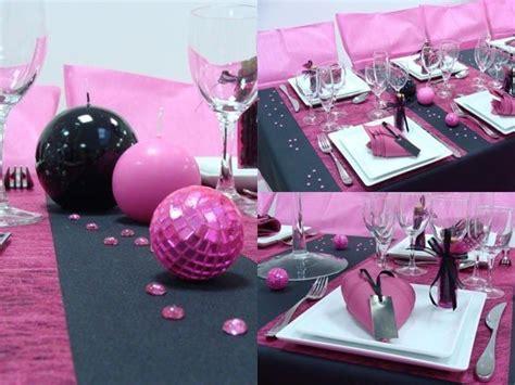 deco et noir pour anniversaire fushia et noir mariage celinep88 photos club doctissimo