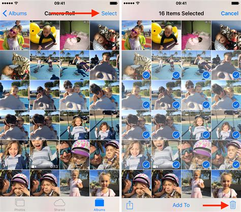 how to remove pictures from iphone how to delete photos from your iphone or