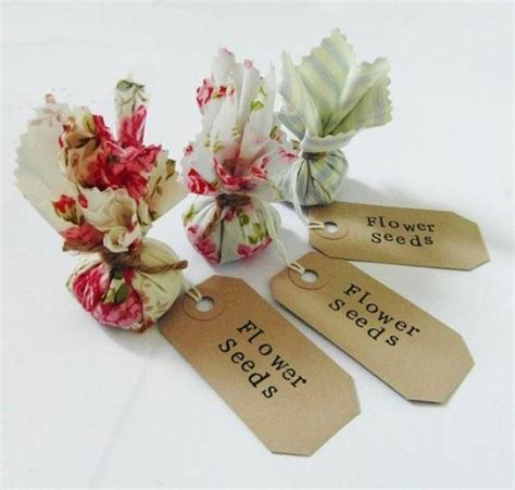 diy wedding favor flower seeds set of 10 country garden flower seed wedding favours with sted labels 2511783 weddbook