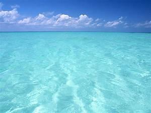 Hermoso mar de la aguamarina fondos de pantalla gratis