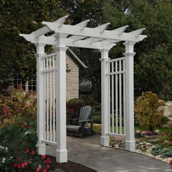 Garden Arch Costco by 17 Best Images About Pergolas On Vinyls