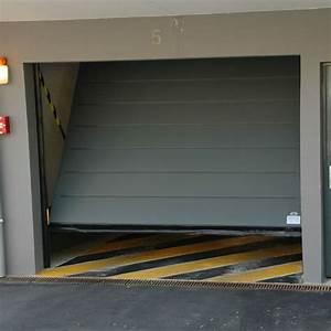 porte de garage basculante en acier safir With porte garage acier