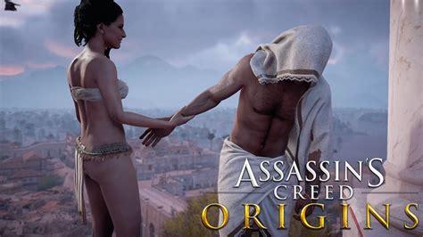 Assassin S Creed Origins Bayek Ang Aya LOVE SCENE PS Pro YouTube